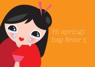 hay fever little smilemakers illustration