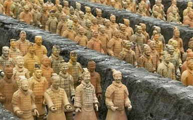 73822824 Army of terracotta soldiers,