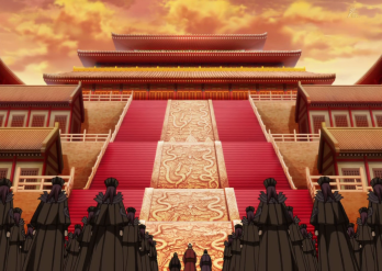 three_great_families_of_qin_with_the_eunuchs_arrives_in_front_of_the_throne_room_anime_s2